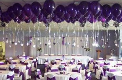 Balloons for decorating wedding venues and receptions north devon wedding balloons junglespirit Images