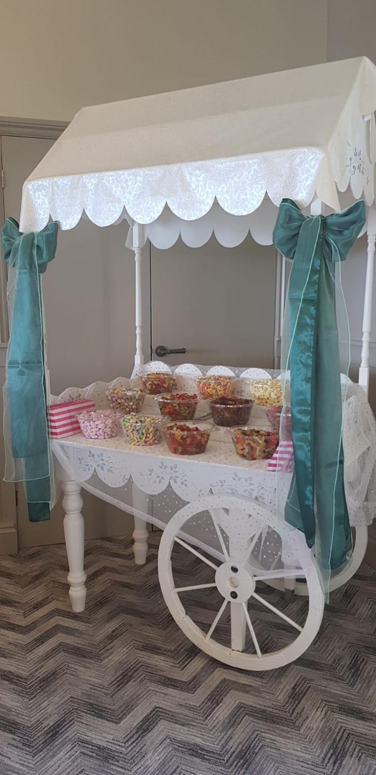Candy Cart Hire Weddings And Special Occasions North Devon